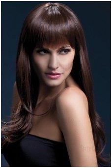 Rudų plaukų perukas Sienna