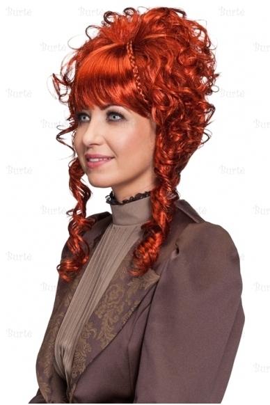 Rudas damos perukas 2