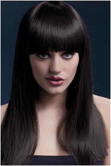 Rudų plaukų perukas Alexia