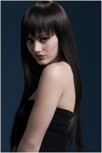 Rudų plaukų perukas Jessica