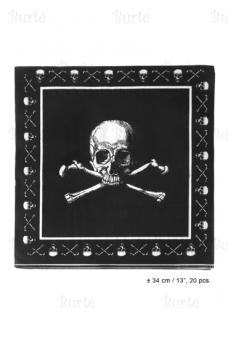 Салфетки для Пиратской вечеринки