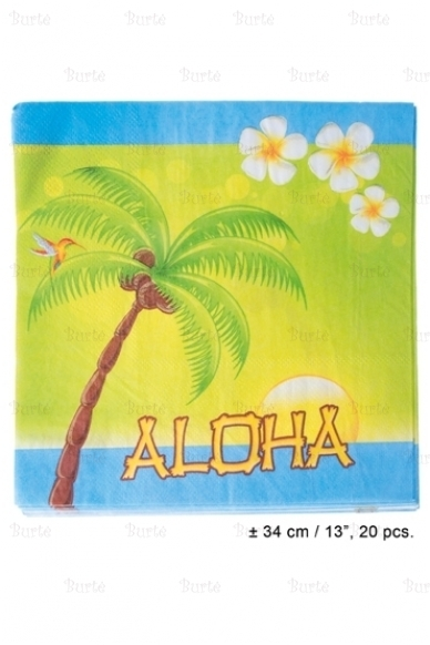 Servetėlės Havajų vakarėliui