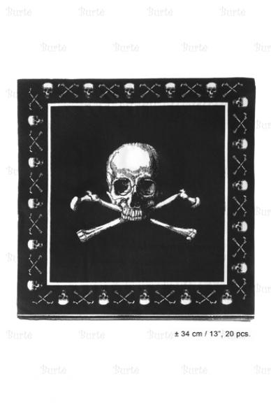 Servetėlės piratų vakarėliui