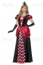 Širdžių karalienės kostiumas
