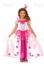 Širdžių princesės kostiumas
