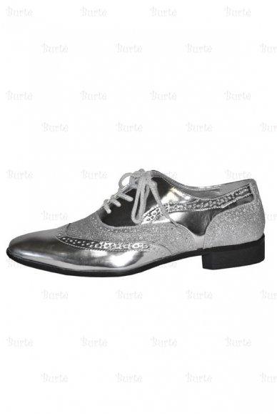 Sidabriniai disko batai