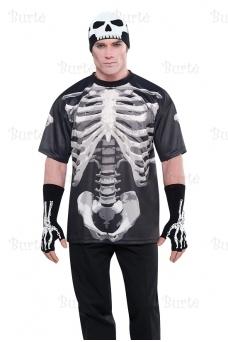 Футболка скелет
