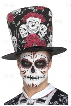 "Skrybėlė ""Day of the Dead"""