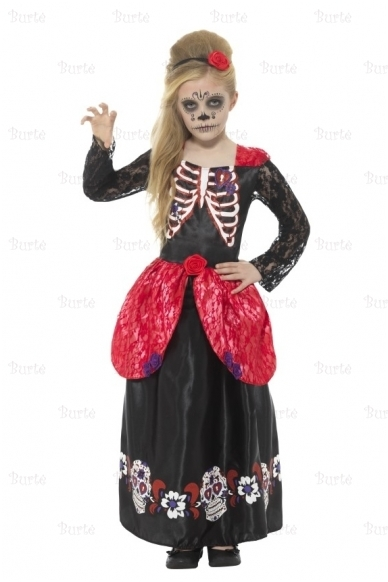 "Skeletės suknelė ""Day of the Dead"""