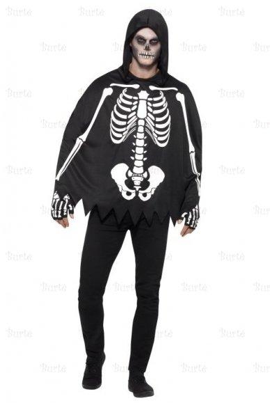 Skeleto kostiumas suaugusiems