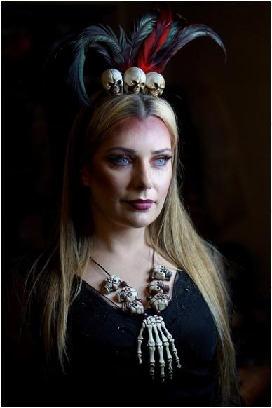 Skeleton necklace 2