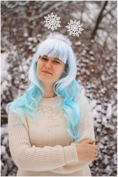 Snowflake Head Boppers 3