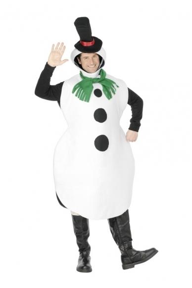 Sniego Senio Besmegenio kostiumas 2