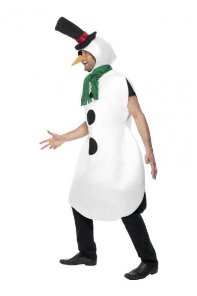 Sniego Senio Besmegenio kostiumas 3