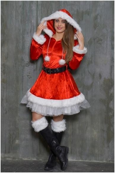 Ladies Costume Sassy Santa