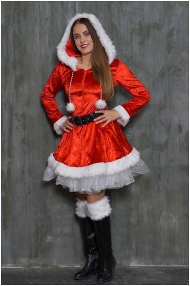 Ladies Costume Sassy Santa 5