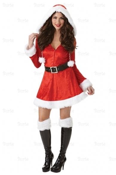 Ladies Costume Sassy Santa 3