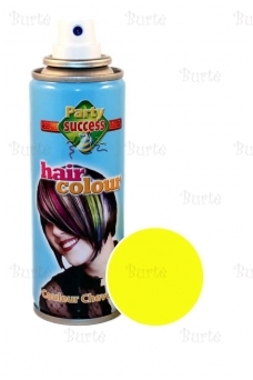 Colour hairspray, yellow