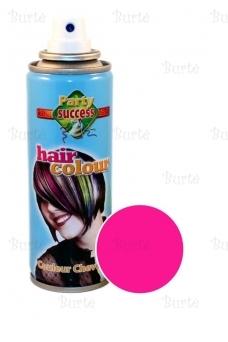 Spalvotas plaukų lakas, rožinis