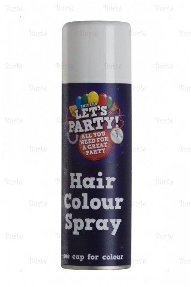 Spalvoti plaukų dažai, balti 2