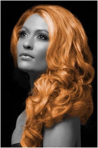 Spalvoti plaukų dažai, oranžiniai 3