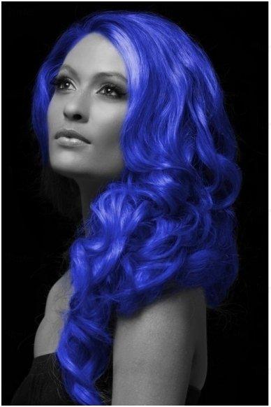 Spalvoti plaukų dažai, mėlyni 3