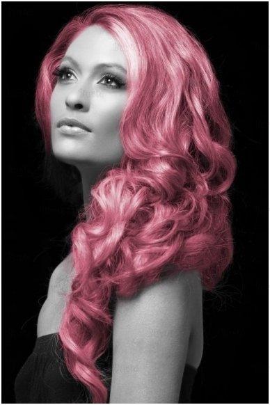 Spalvoti plaukų dažai, rožiniai 2