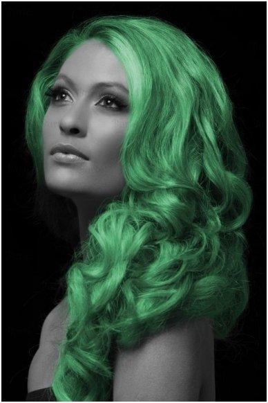 Spalvoti plaukų dažai, žali 2