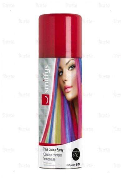 Spalvoti plaukų dažai, raudoni 2
