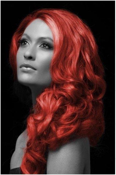 Spalvoti plaukų dažai, raudoni 3