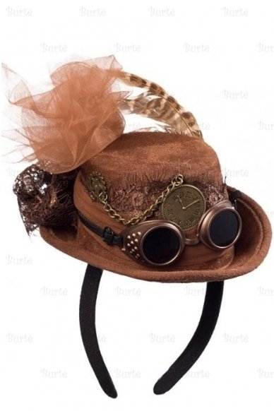 Steampunk skrybėlaitė 3
