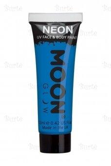 UV краска для лица и тела, синяя