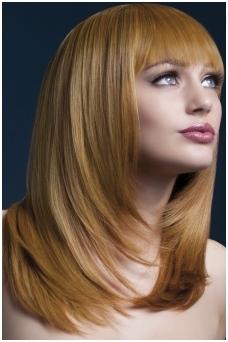 Šviesiai rudas perukas Tanja