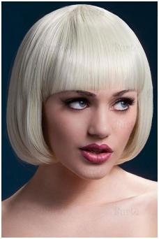 Šviesių plaukų perukas Mia