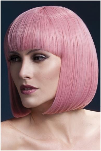 Šviesiai rožinės spalvos perukas Elise