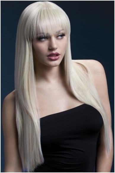 Šviesių plaukų perukas Jessica