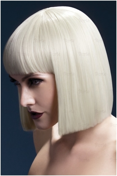 Šviesių plaukų perukas Lola