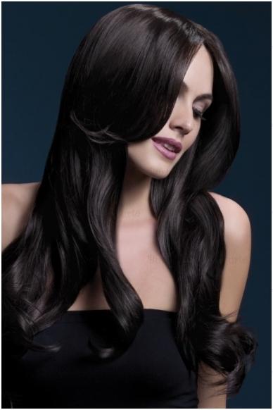 Tamsiai rudas perukas Khloe