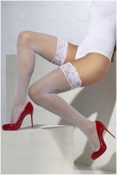 Tinklinės kojinės su nėriniais