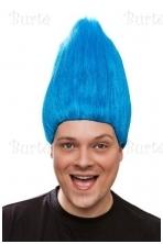 Trolio perukas, mėlynas