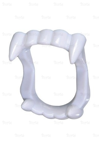 Vampyro dantys, balti