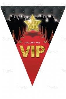 "Flag garland ""VIP"""
