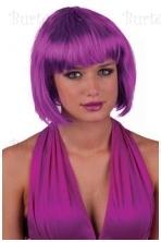 Violetinis kare perukas