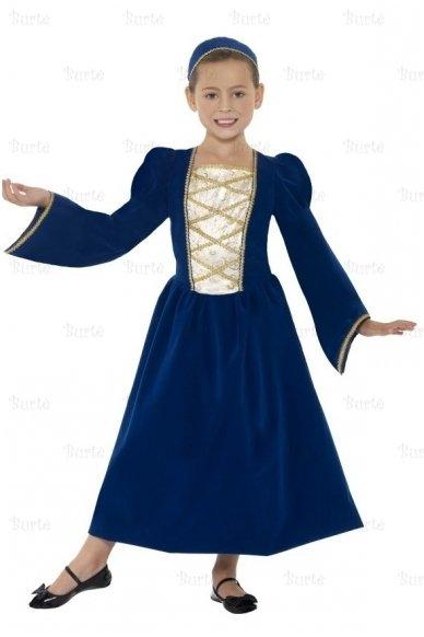 Viduramžių princesės suknelė