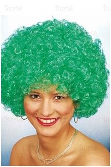Žalias klouno perukas