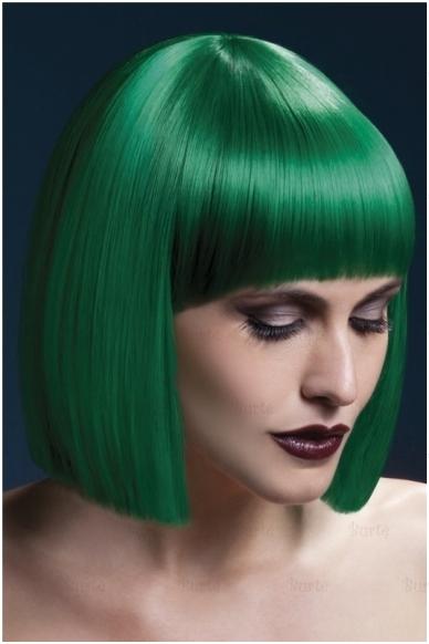 Žalių plaukų perukas Lola