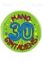 Ženkliukas trisdešimtojo gimtadienio proga