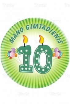 Ženkliukas dešimtojo gimtadienio proga