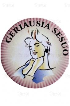 """Ženkliukas """"GERIAUSIA SESUO"""""""