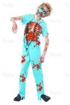 Zombio gydytojo kostiumas